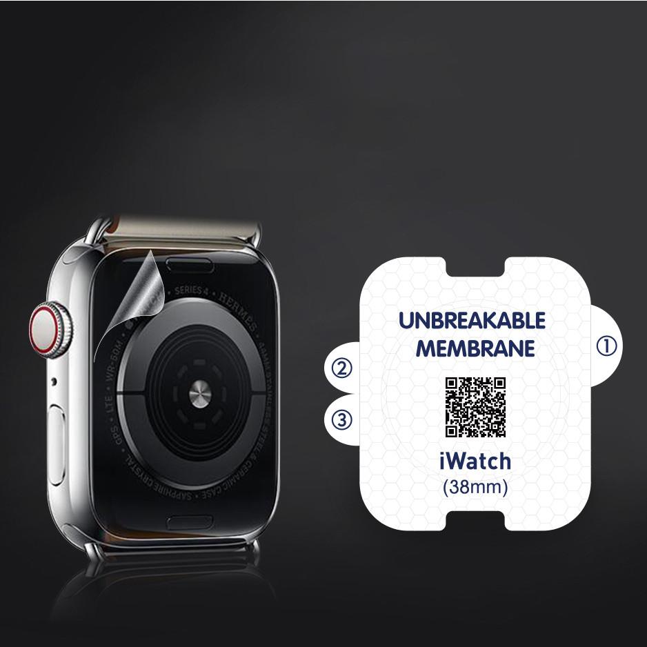 Combo 2 Miếng Dán Mặt Lưng PPF CHỐNG VÂN TAY Thế Hệ Mới Dành Cho Apple Watch 1/2/3/4- Handtown - Hàng Chính Hãng