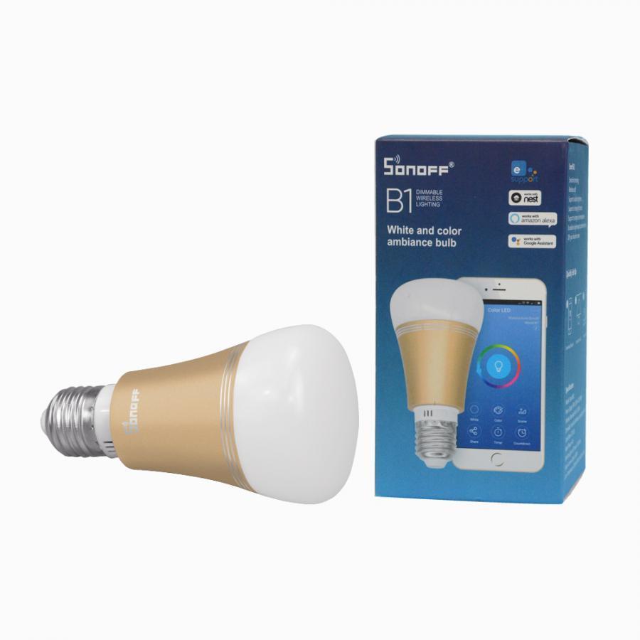 Bóng đèn LED WiFi đổi màu thông minh Sonoff B1