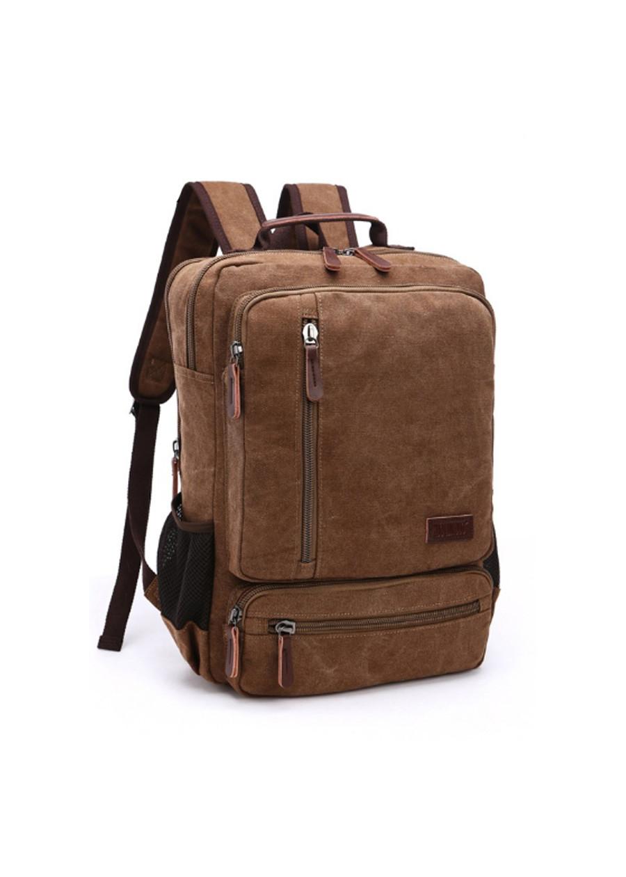 Balo nam thời trang vải canvas BL0017, đi học - đi làm - đi chơi - đựng laptop
