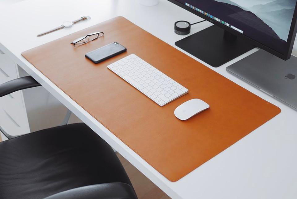 Thảm da trải bàn làm việc Deskpad cỡ (40 × 80 cm)