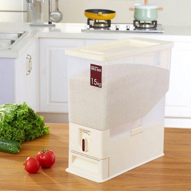 Thùng đựng gạo thông minh 15 kg