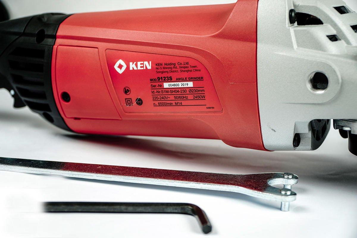 Máy mài góc 230mm Ken 9123S - Máy mài, máy cắt Nhãn hàng KEN |  DienMayHoangNgan.com