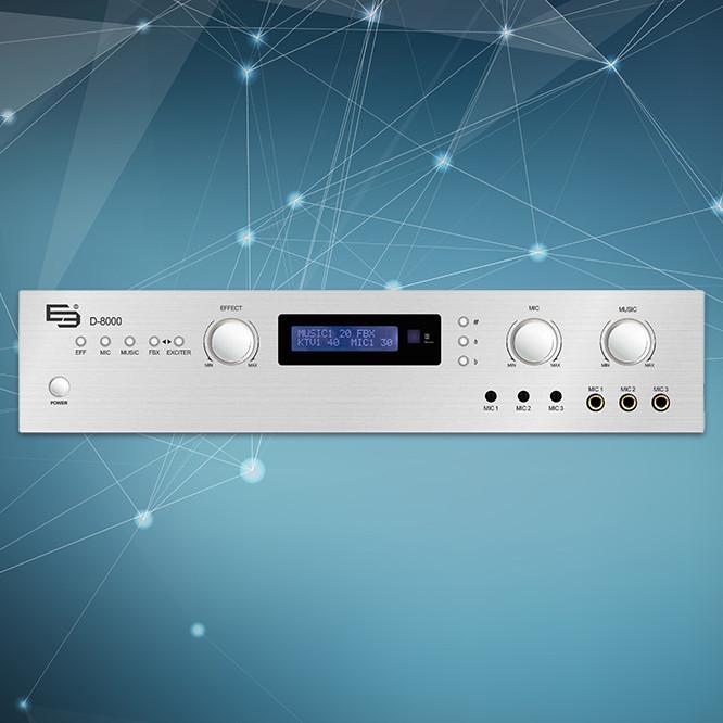 Amply E3 D8000 (Hàng chính hãng)