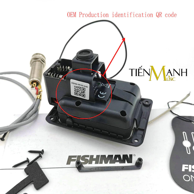 [Chính Hãng] EQ Fishman PRO 301 cho Đàn Guitar PSY-GAA-QAA (PRO-PSY-301) Presys Blend - Thiết bị Thu âm Equalizer Finger Style - Kèm Móng Gẩy DreamMaker