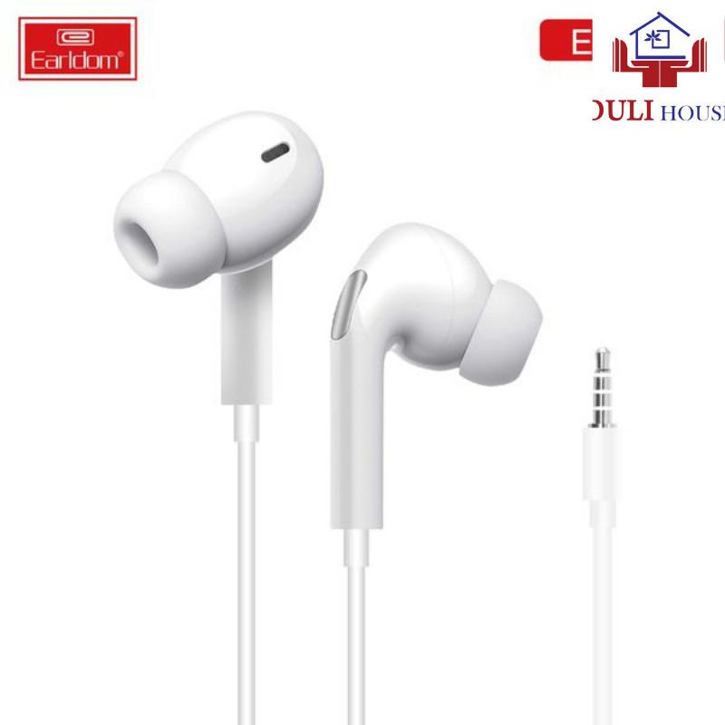 Tai nghe có dây nhét tai in ear Jack3.5 âm bass chống ồn và chống rối hàng cao cấp chính hãng dành cho iPhone Samsung OPPO VIVO HUAWEI XIAOMI Hàng Chính Hãng