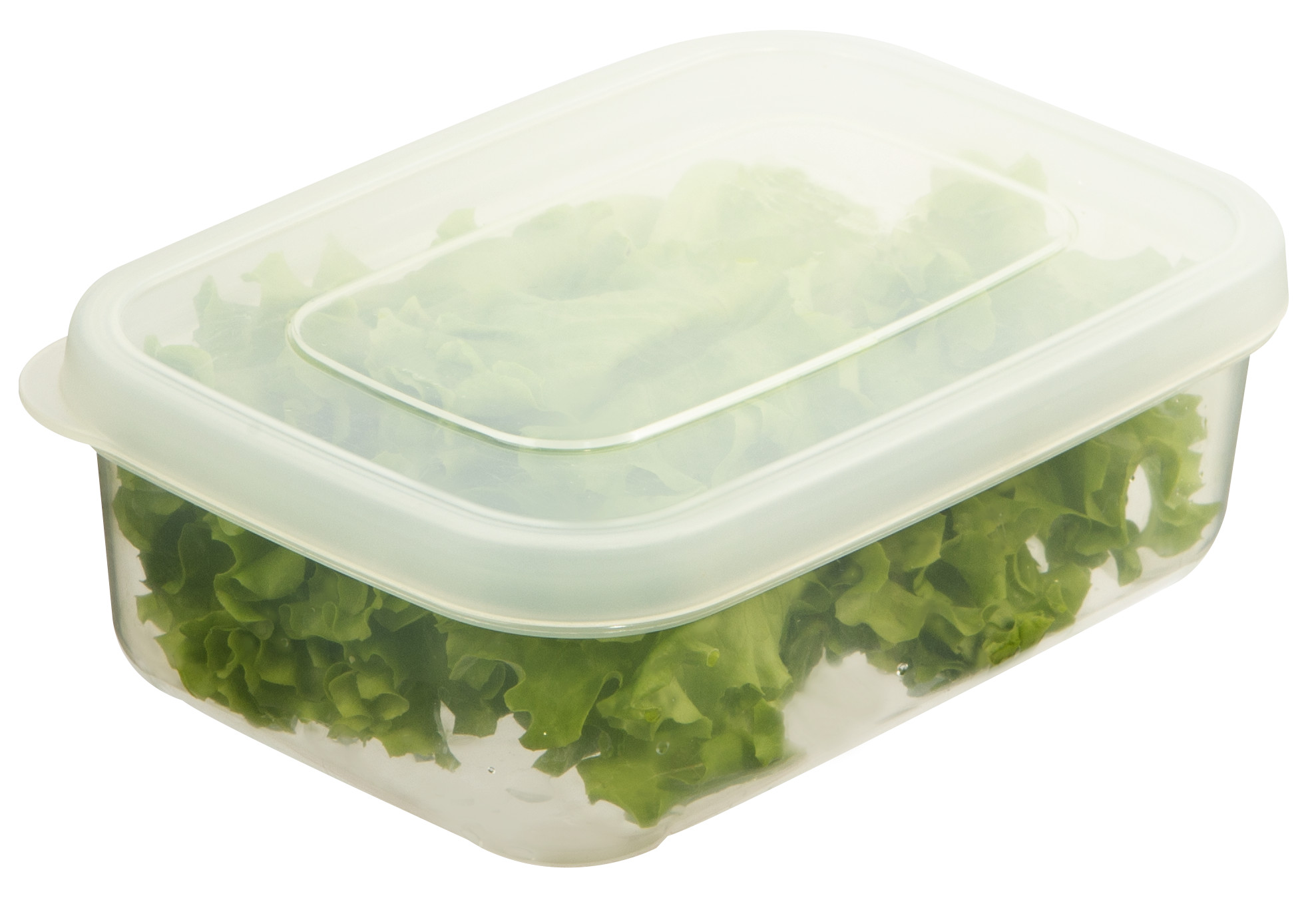 Bộ 3 hộp thực phẩm chữ nhật Hokkaido size 500-1000-2000ml - cam