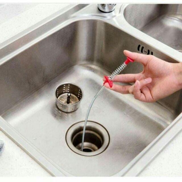 Thông tắc bồn rửa bát dạng kẹp