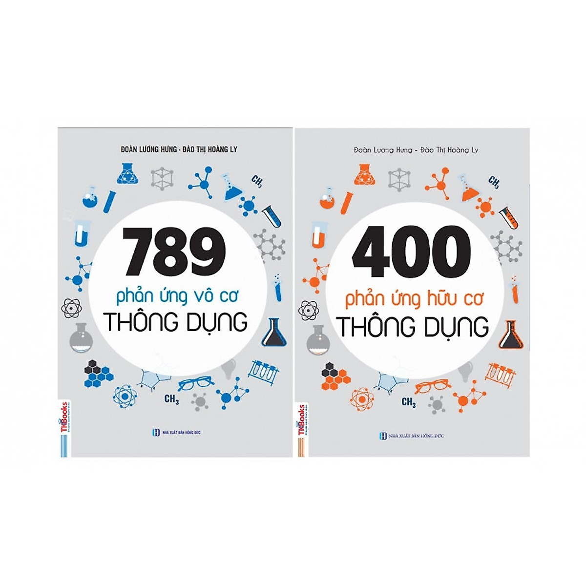 Combo 789 Phản Ứng Vô Cơ Thông Dụng và 400 Phản Ứng Hữu Cơ Thông Dụng