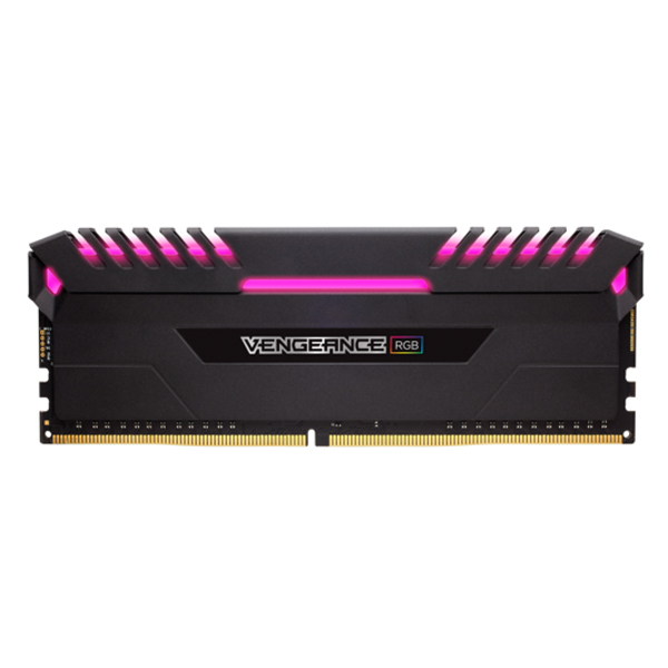 Bộ 2 Thanh RAM PC Corsair Vengeance RGB 32GB (2 x 16GB) DDR4 3200MHz LED RGB - Hàng Chính Hãng