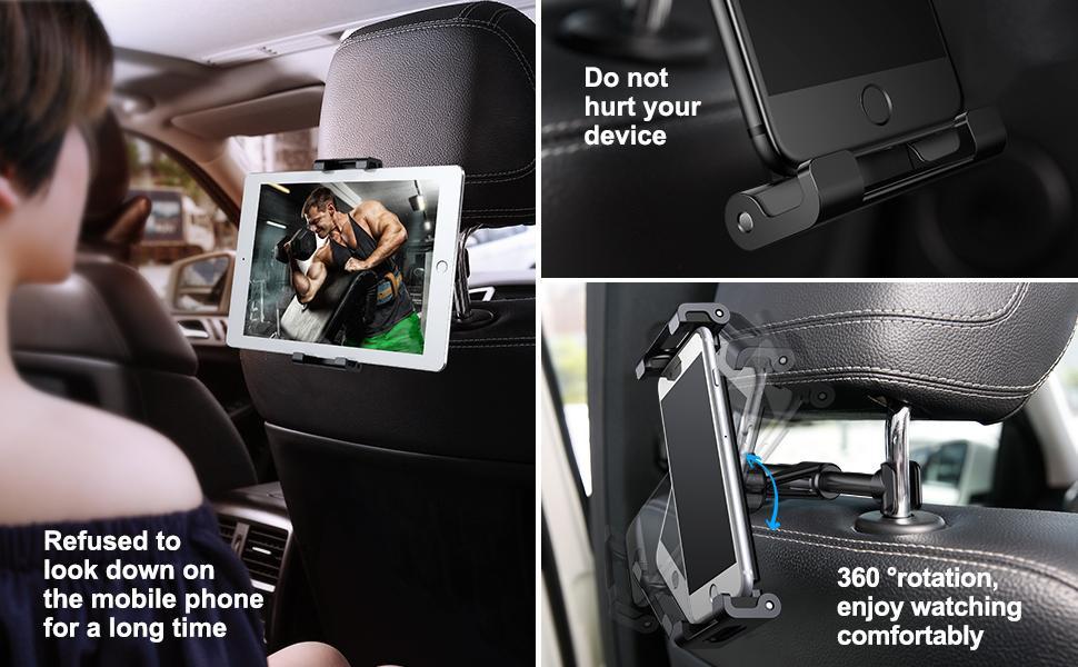 Kẹp máy tình bảng ghế sau ô tô Baseus chính hãng