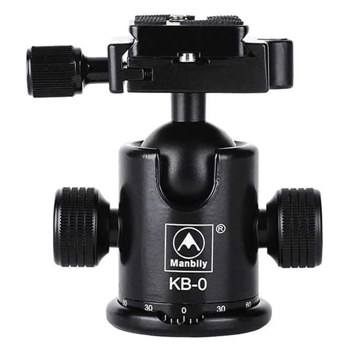 Đầu Ballhead chuyên nghiệp 360° Manbily KB0
