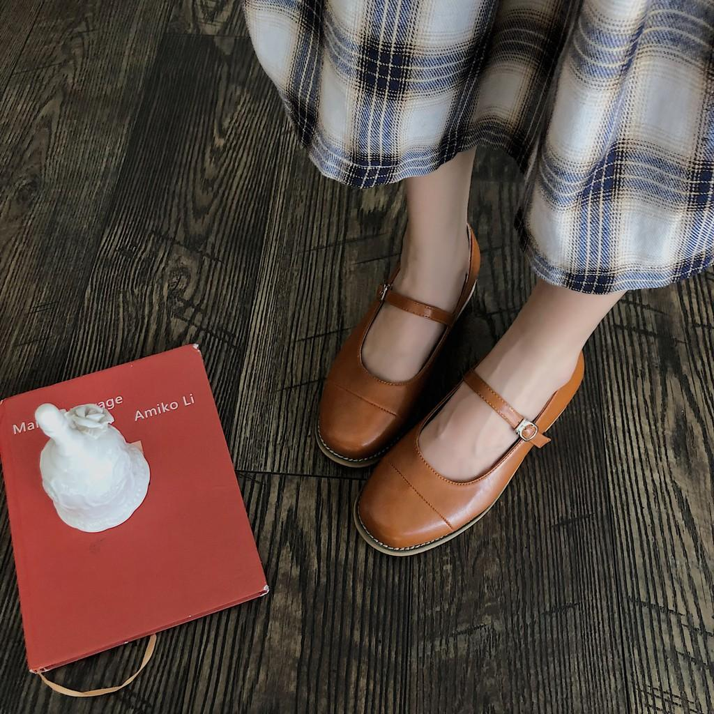 Giày Mary Jane da mềm nhiều màu