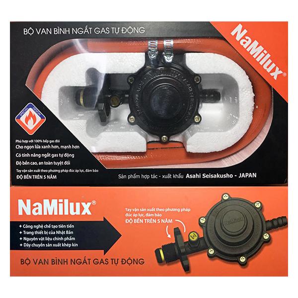 Bộ Van Bình Ngắt Gas Tự Động Namilux NA-345S-VN - Hàng Chính Hãng