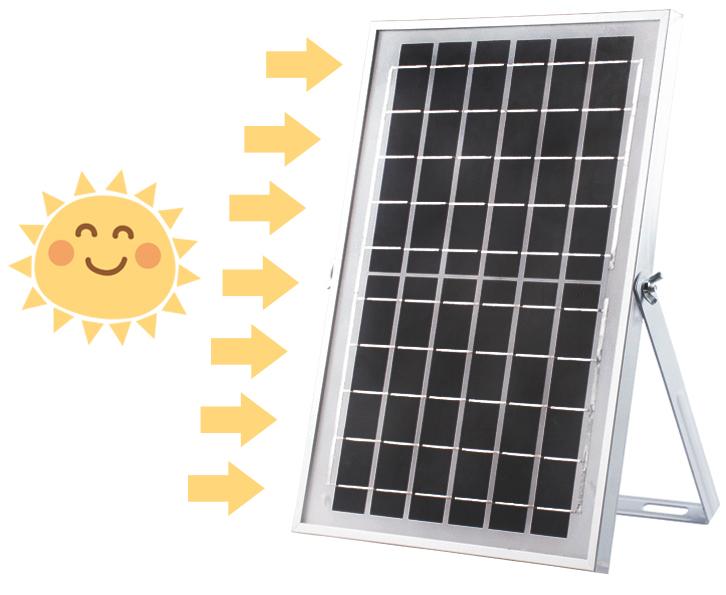 Đèn đường năng lượng mặt trời 100W cho nhà xưởng - tiết kiệm điện - ánh sáng trắng 112 chip led