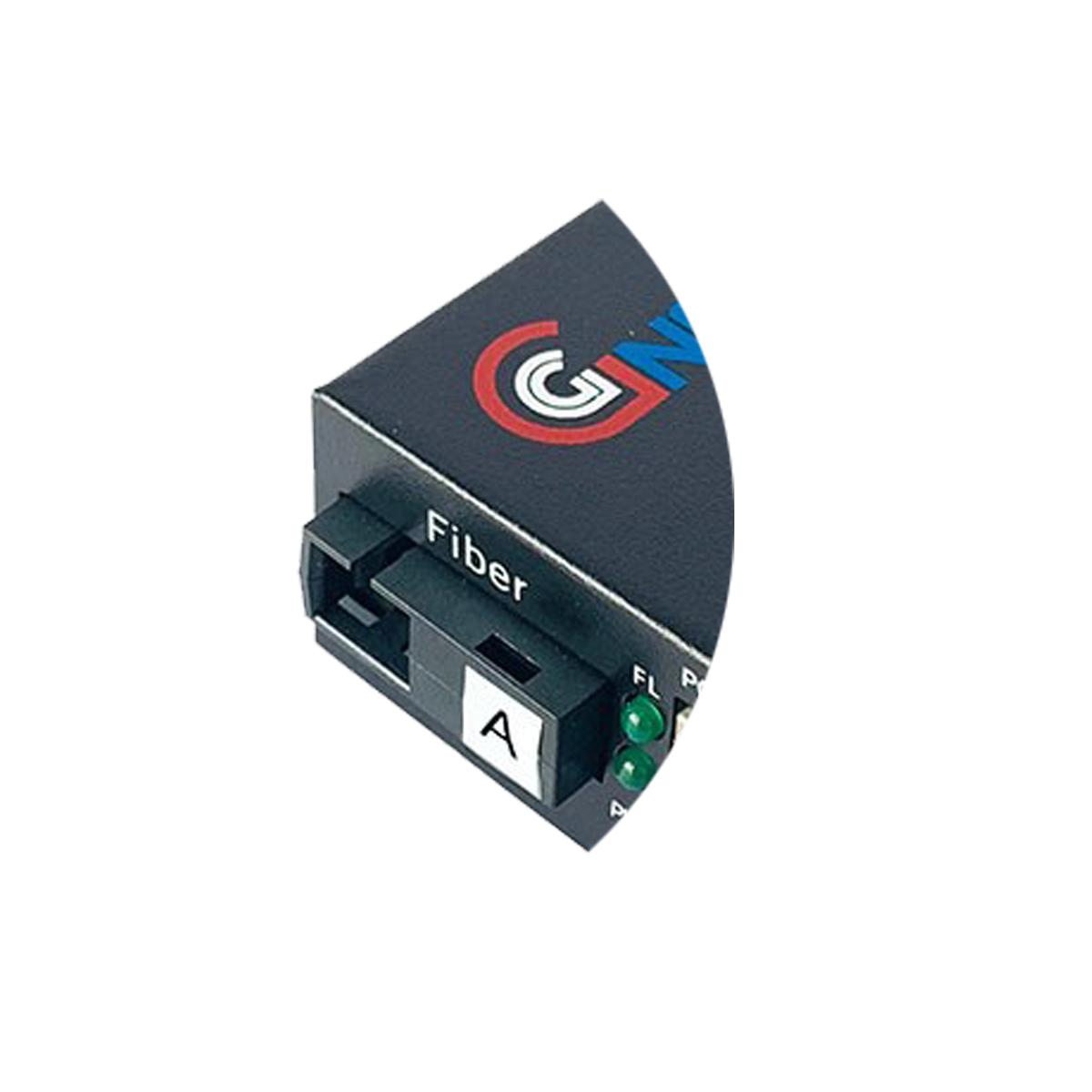 Bộ chuyển đổi quang  điện POE 2xJ45 10/100M kèm cổng  SC 1 sợi GNETCOM GNC-6102FE-25A - Hàng Chính hãng