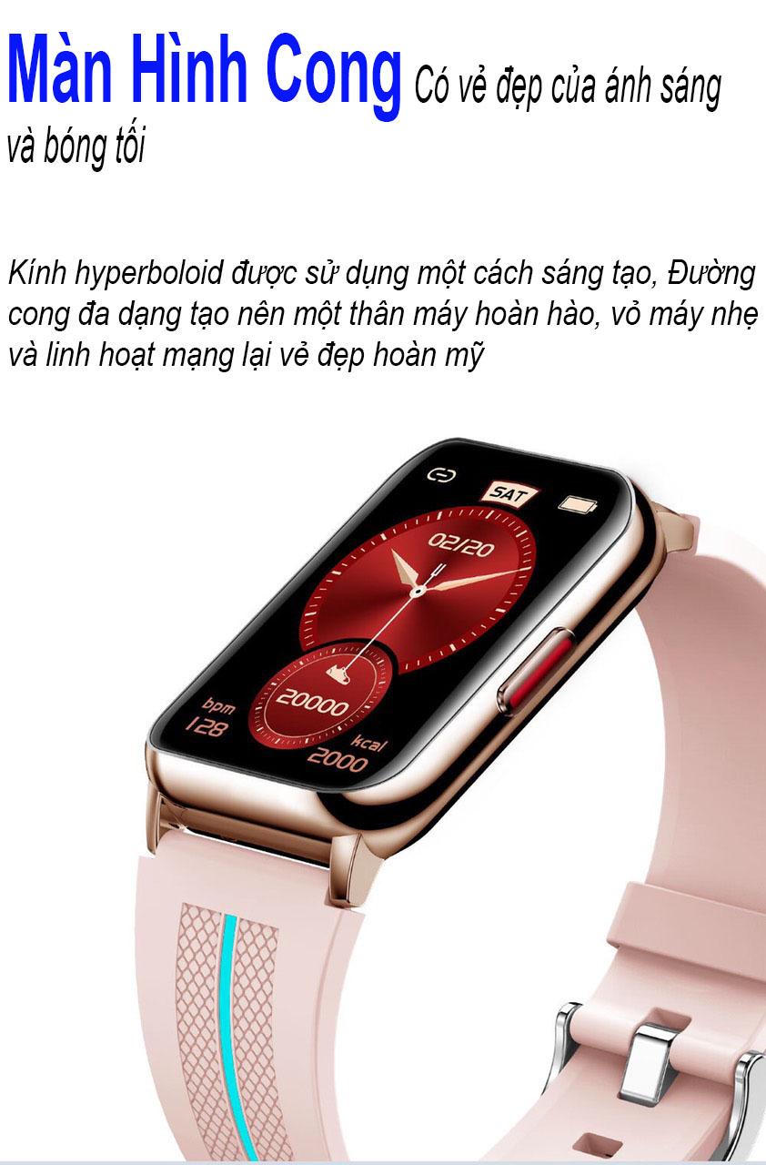 Đồng hồ thông minh Anncoe Watch Fit A76 Plus - Hàng Chính Hãng