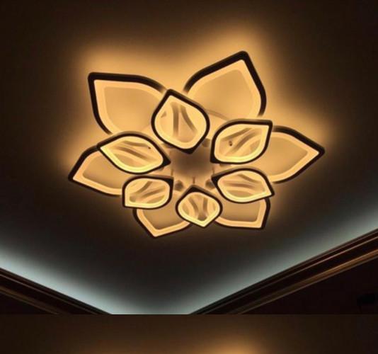 Đèn Ốp Trần Led Hiện Đại 12 Cánh  Hoa Sen