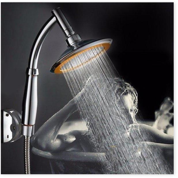 Vòi sen tăng áp inox 304 lk2020, vòi sen tăng áp bát lớn kiểu dáng sang trọng, tăng áp lực nước 300%