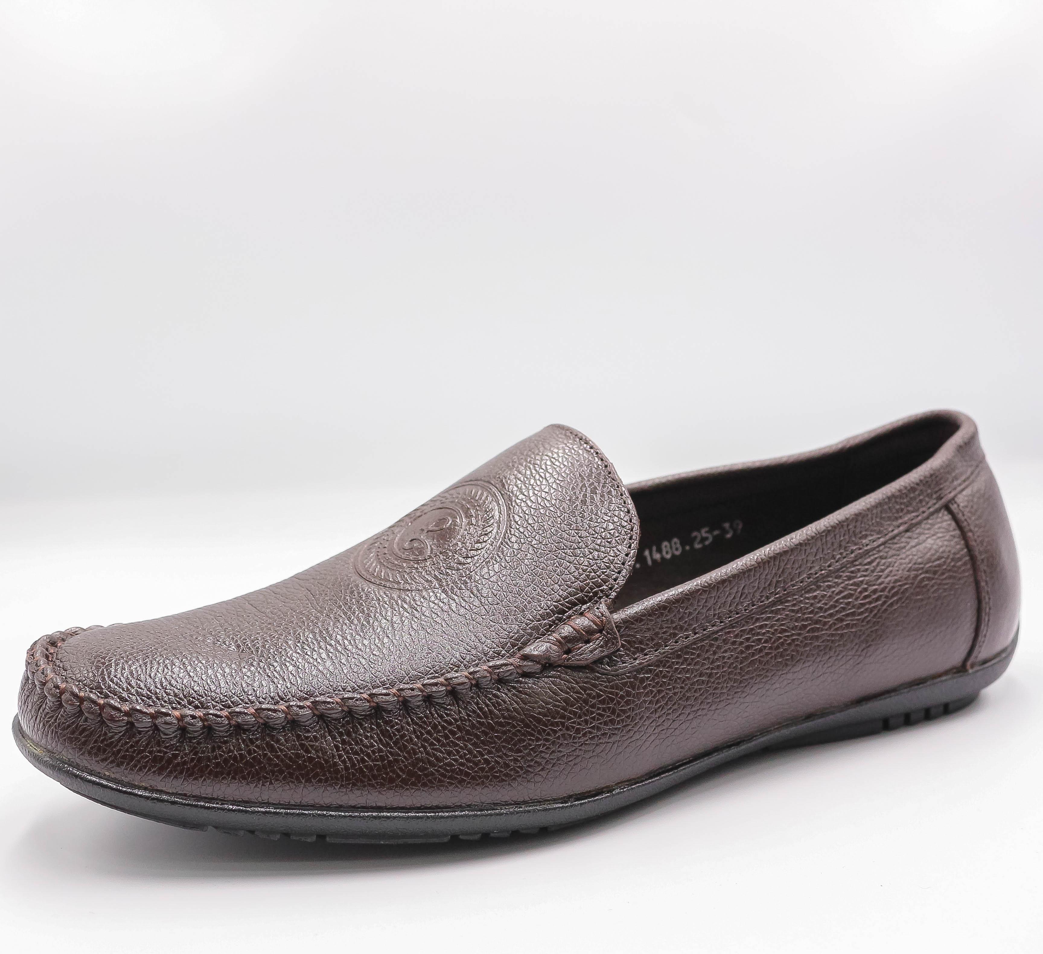 Giày Tây nam da bò cao cấp - 5VTU010 - SMG Shoes