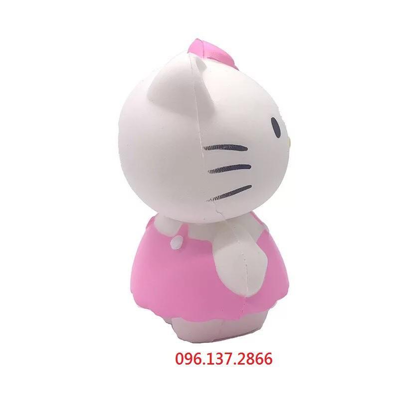 ( hồng ) SQUISHY BÉ MÈO HELLO KITTY HỒNG DỄ THƯƠNG ( nguyenhuyen9916 )