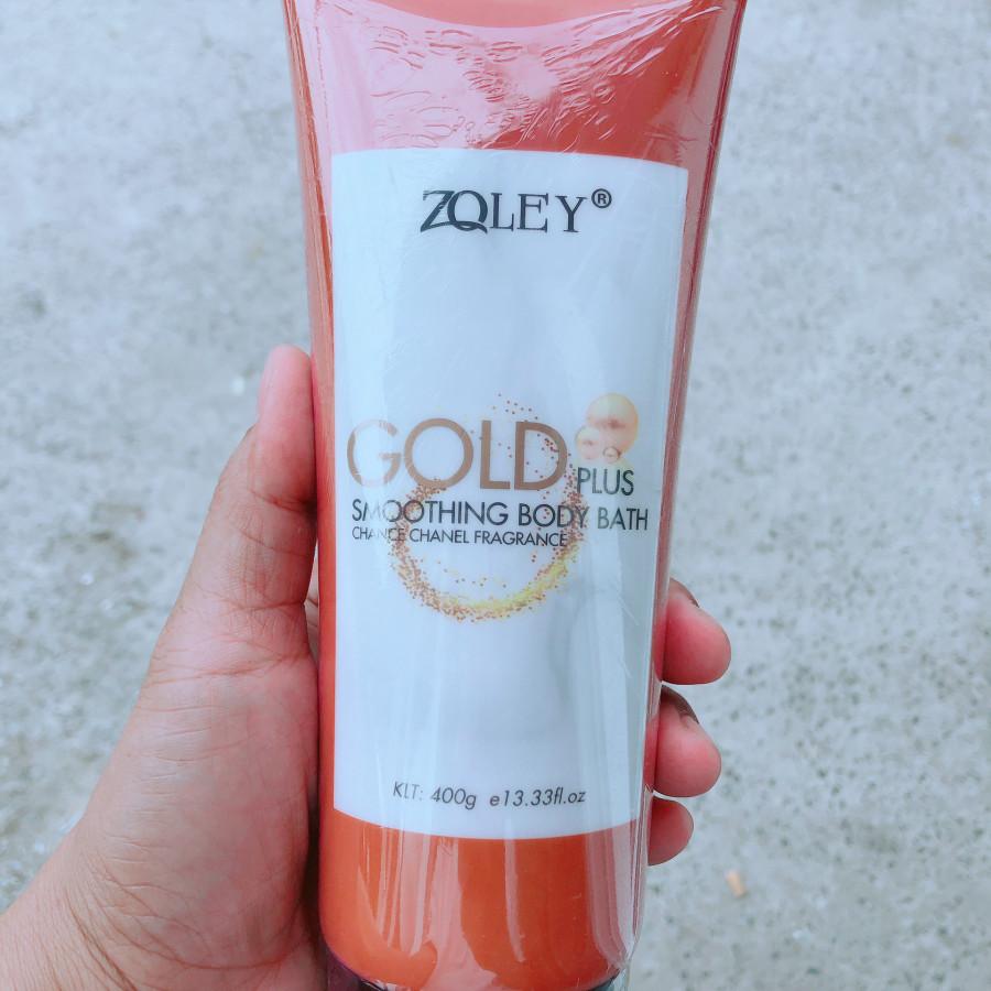 Sữa Tắm Sáng Da Hương Nước Hoa Zoley Gold Plus 400g