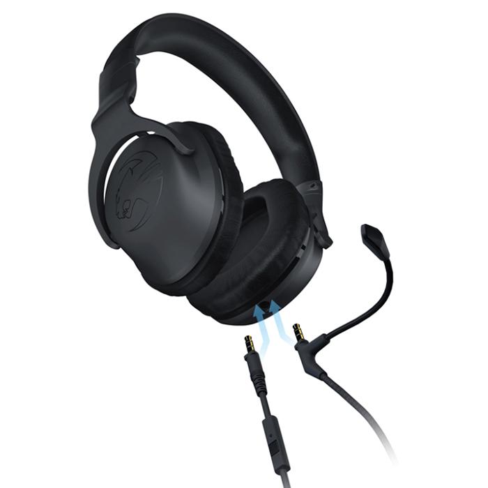 Tai Nghe Có Dây Chụp Tai On-ear ROCCAT Cross Cho PC, Laptop, Smartphone, PS4 - Hàng Chính Hãng