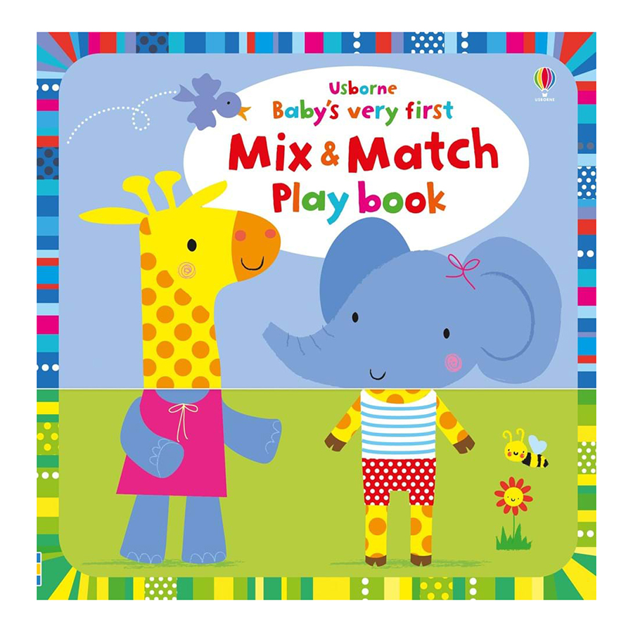 Usborne Baby Very First Mix and Match Playbook