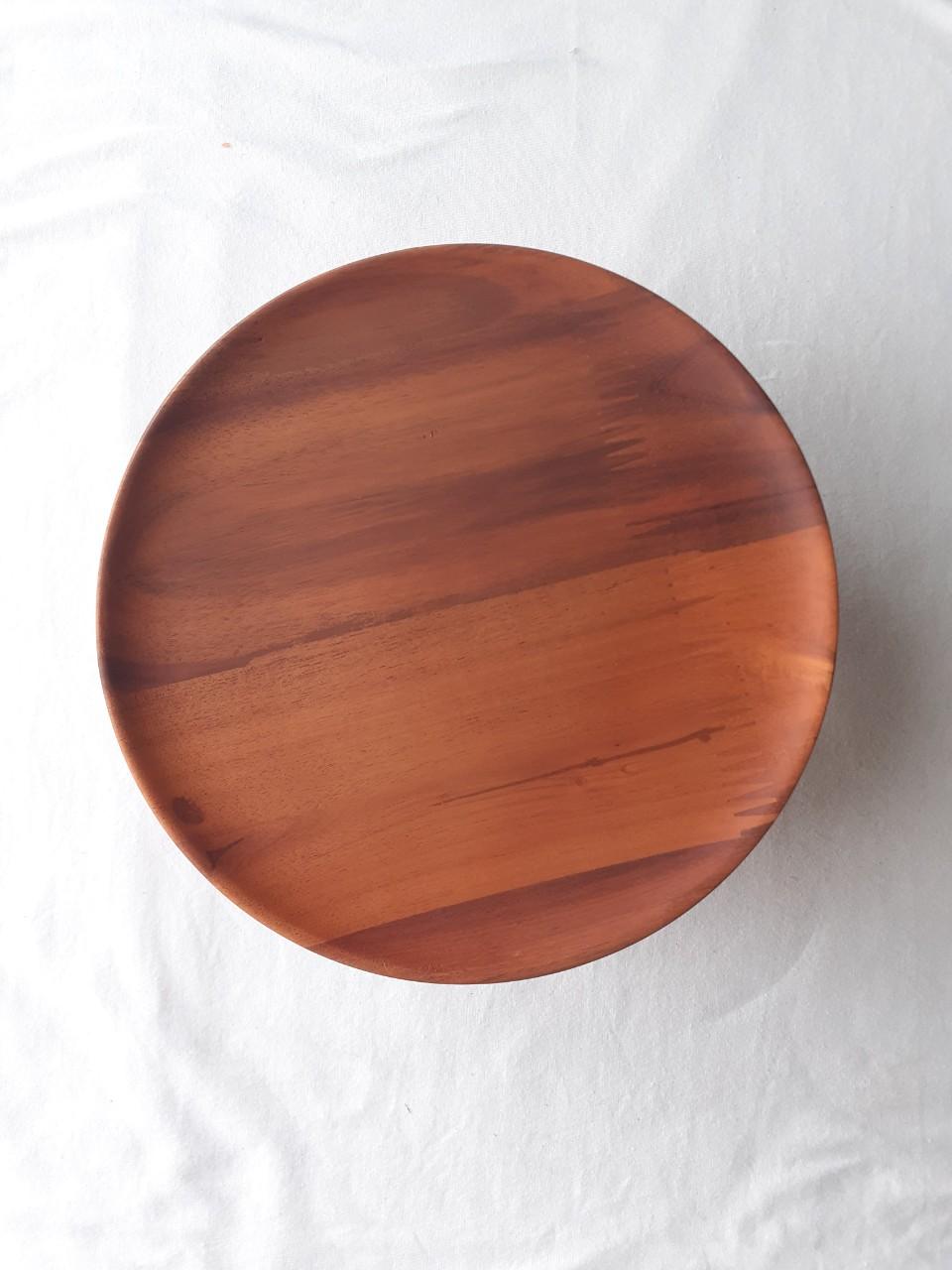 Mâm bồng, đĩa đựng hoa quả thờ bằng gỗ