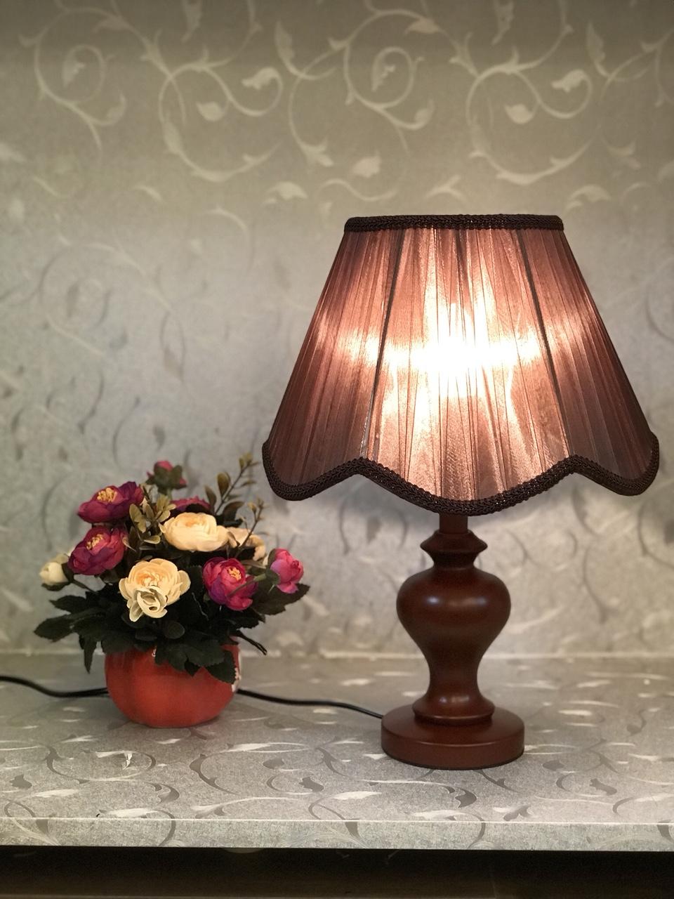 Đèn bàn - đèn bàn trang trí phòng ngủ - đèn ngủ gỗ hiện đại MB2022