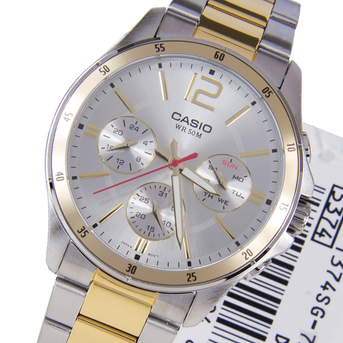 Đồng hồ nam dây kim loại Casio MTP-1374SG-7AVDF