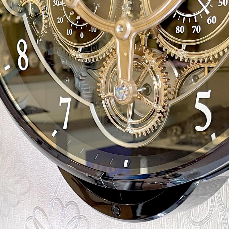 Đồng hồ treo tường Nhật Bản Rhythm Magic Motion 4MH886WD02 – Kt 39.0 x 41.0 x 8.6cm. Dùng PIN.