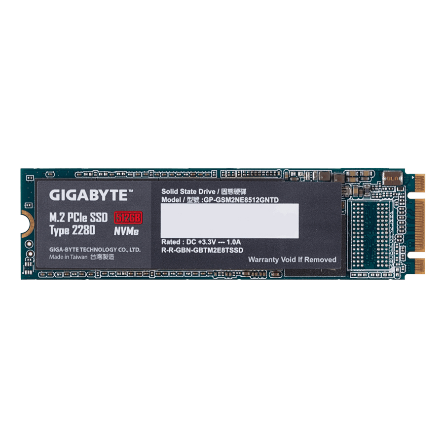 Ổ Cứng SSD Gigabyte M.2 PCie 512GB - Hàng Chính Hãng