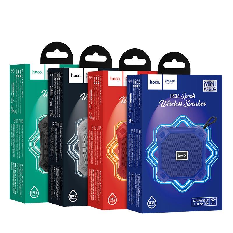 Loa Bluetooth Thể Thao Hoco BS34 - Hàng Chính Hãng