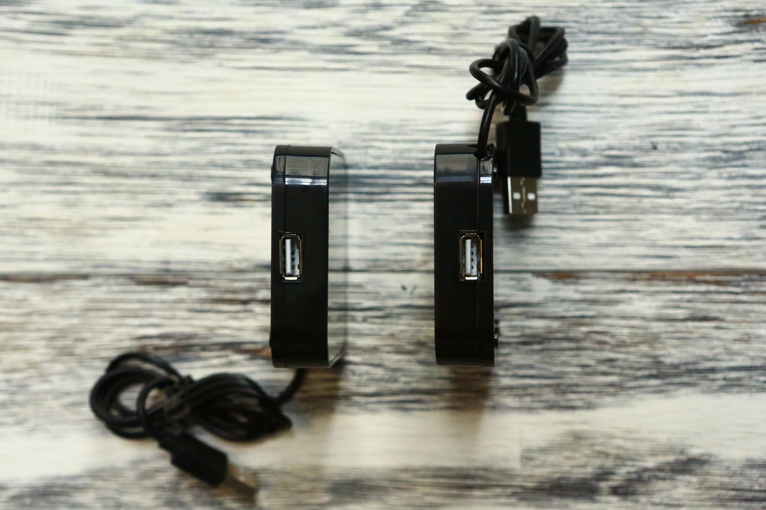 Bộ Hub chia 4 cổng USB có Led