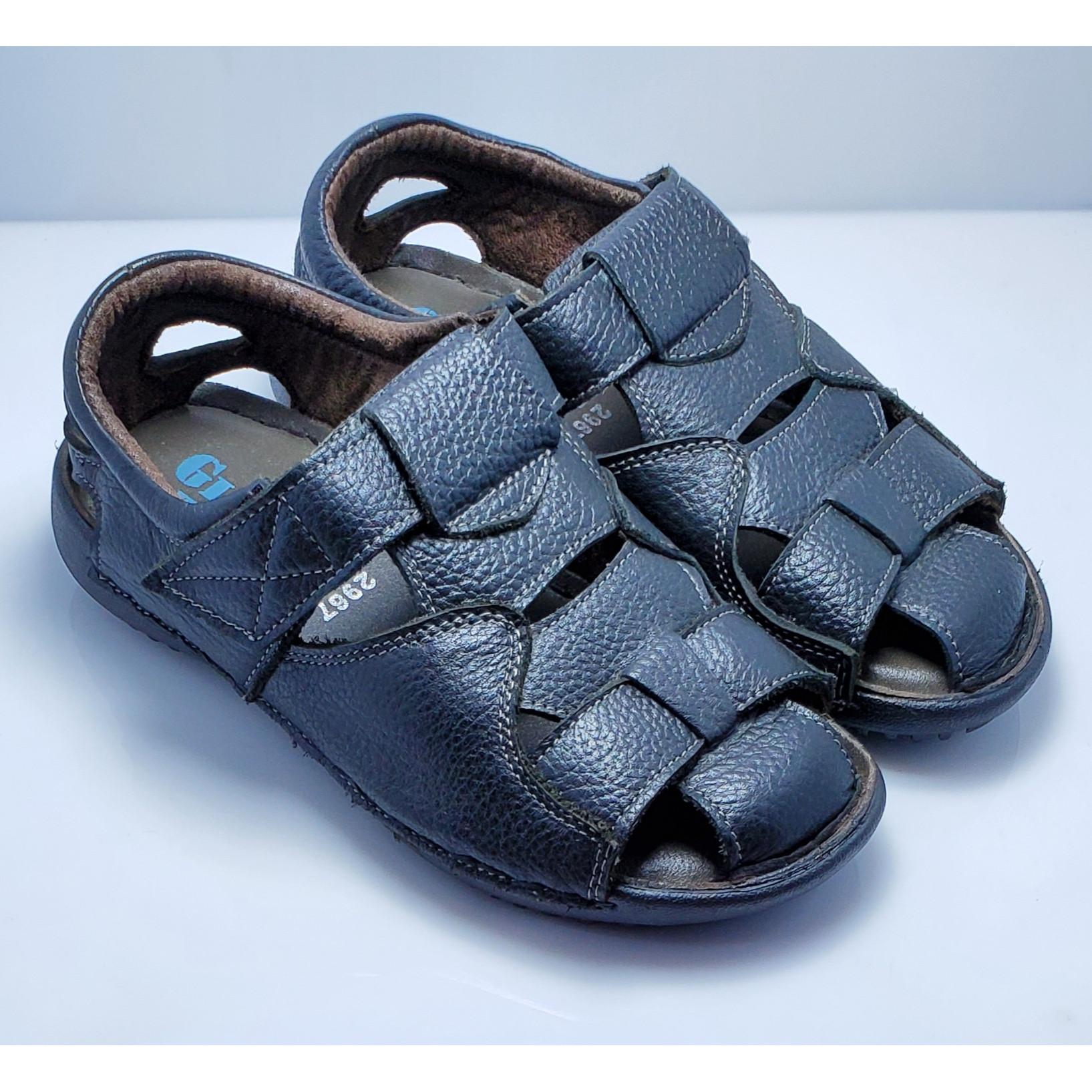 Giày sandanl rọ da nam 2967 Gia Vi