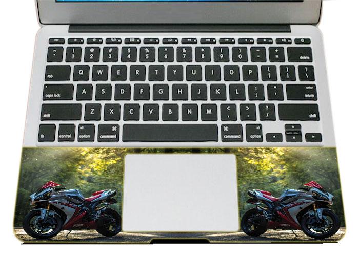 Mẫu Dán Skin Trang Trí Mặt Ngoài + Lót Tay Laptop Xe LTX - 219