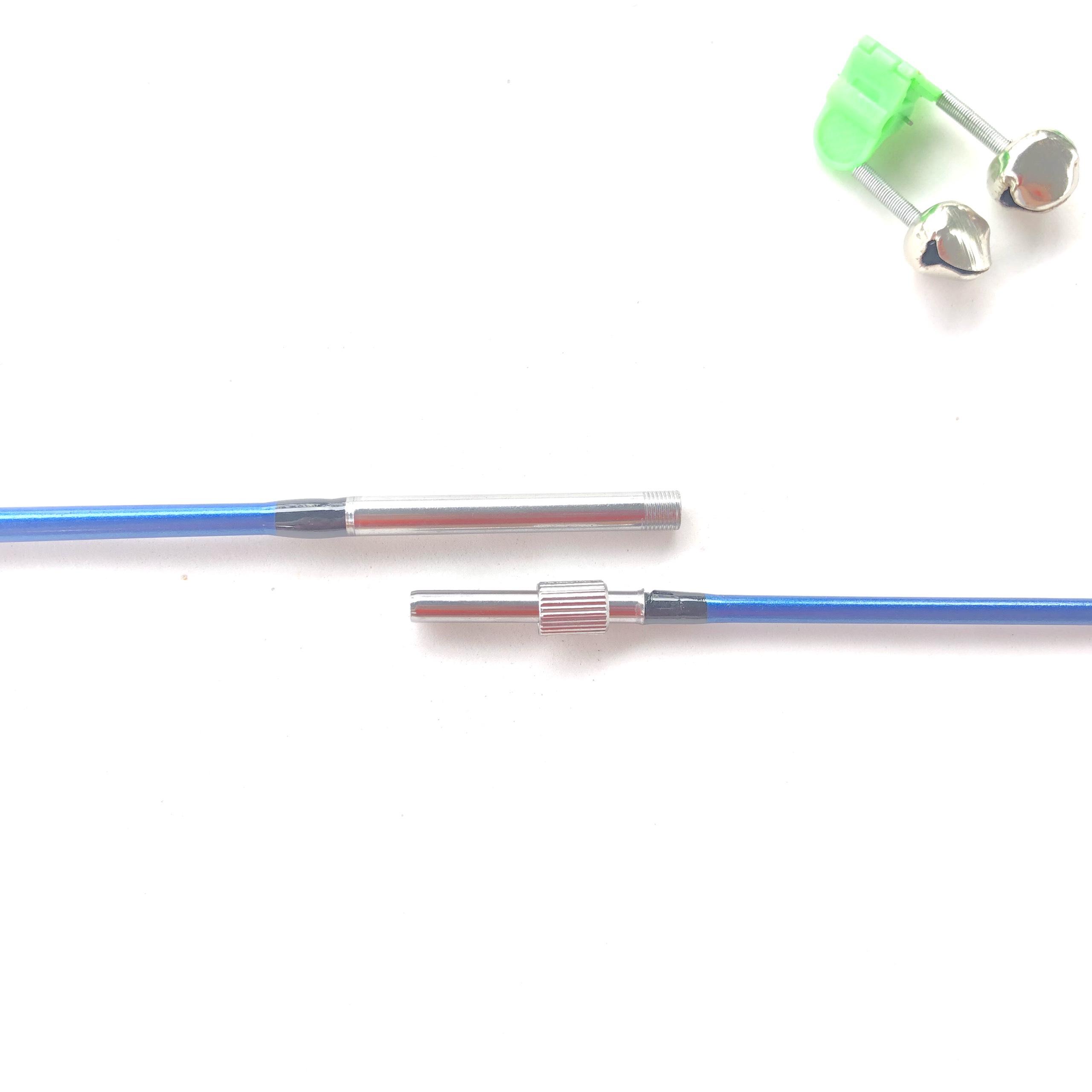 Bộ cần câu 2 khúc đặc ruột T1999 cao cấp tặng kèm phụ kiện (Màu xanh)