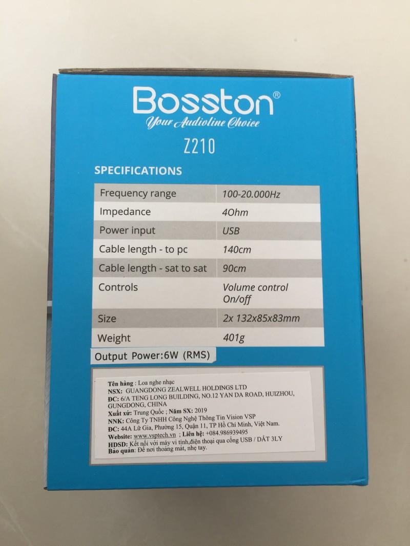 Loa vi tính 2.0 Z210 Led RGB Với Thiết Kế Nhỏ Gọn