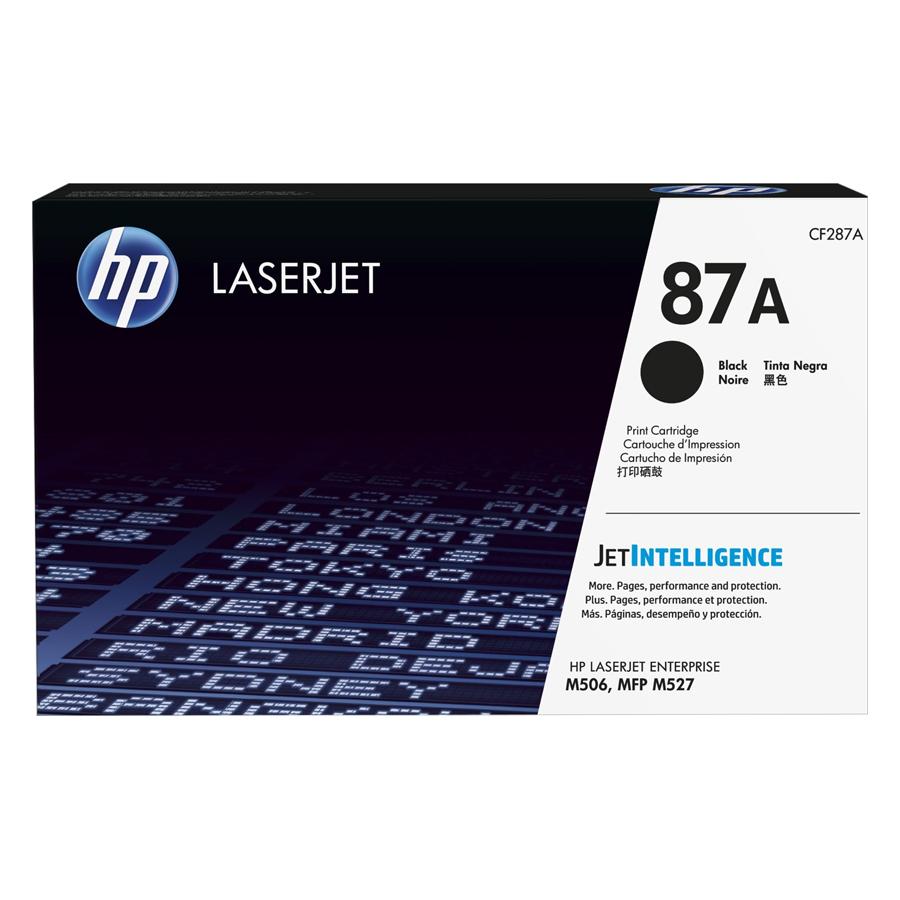 Mực In HP CF287A (HP 87A) Cho Máy In HP M506dh, HP M501n, HP M501dn, HP M506n, HP M527f, HP M527z, HP M506dn, HP M506x, HP M527dn - Hàng chính hãng