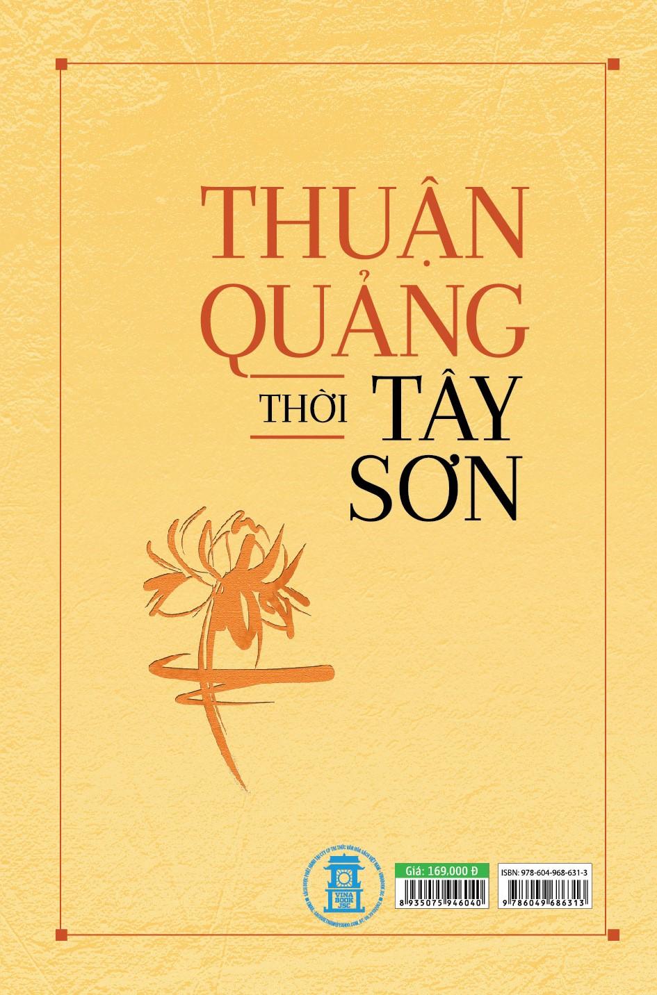 Thuận Quảng Thời Tây Sơn