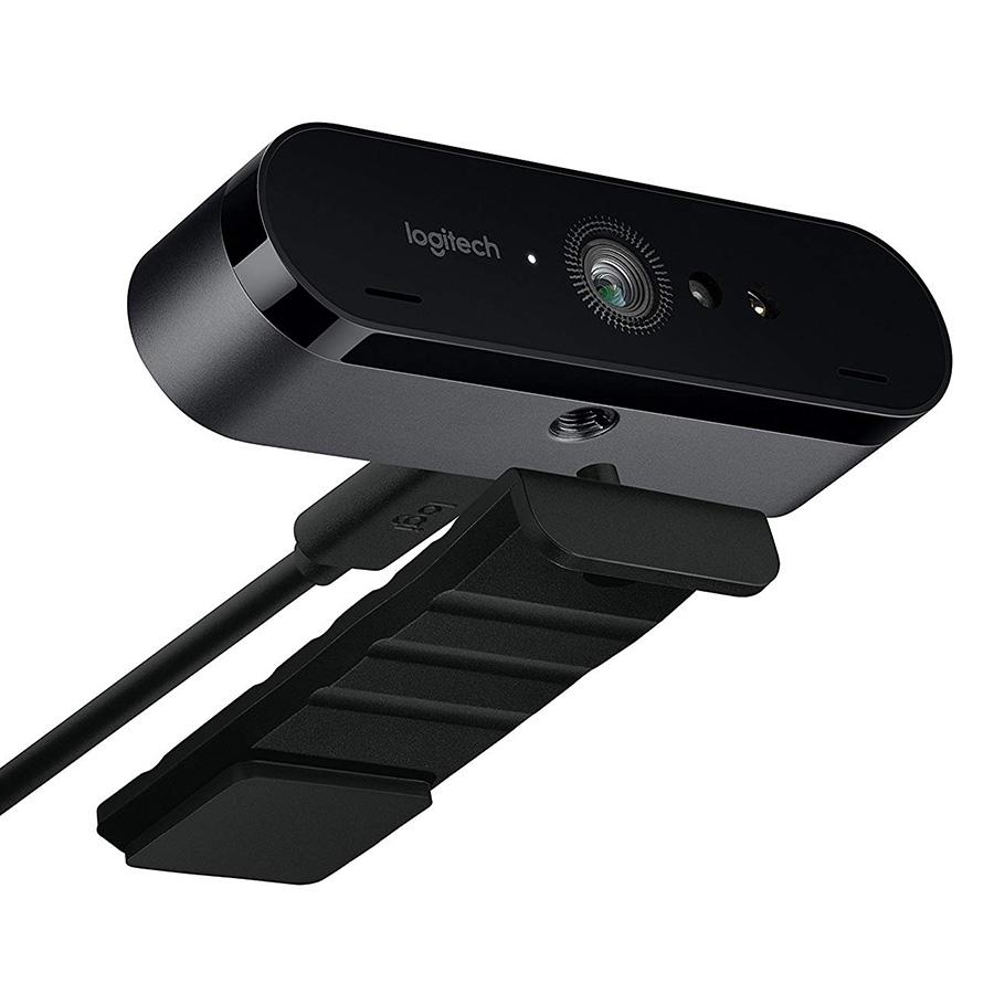 Webcam Logitech BRIO - 4K Ultra HD (Hàng chính hãng)