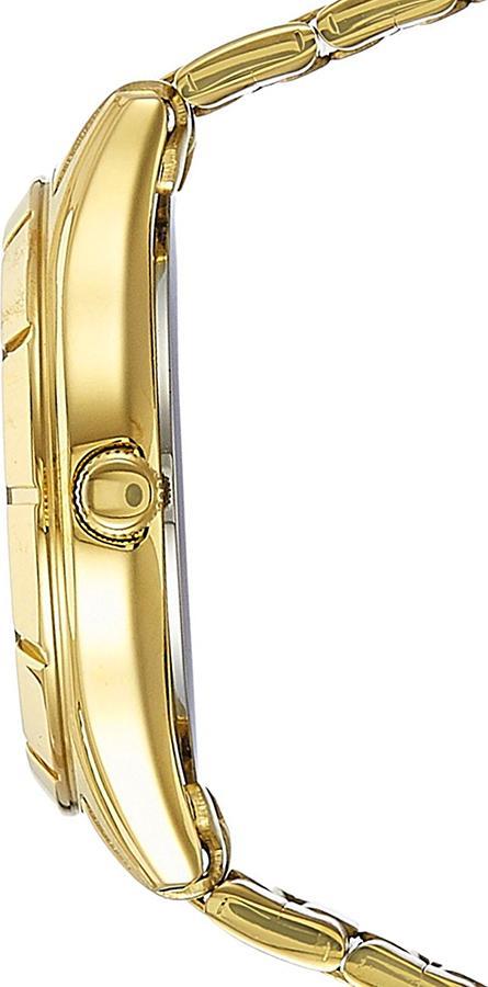 Đồng Hồ Citizen Nữ Đính Đá Swarovski Dây Kim Loại Pin-Quartz EU6042-57E - Mặt Đen (28mm)