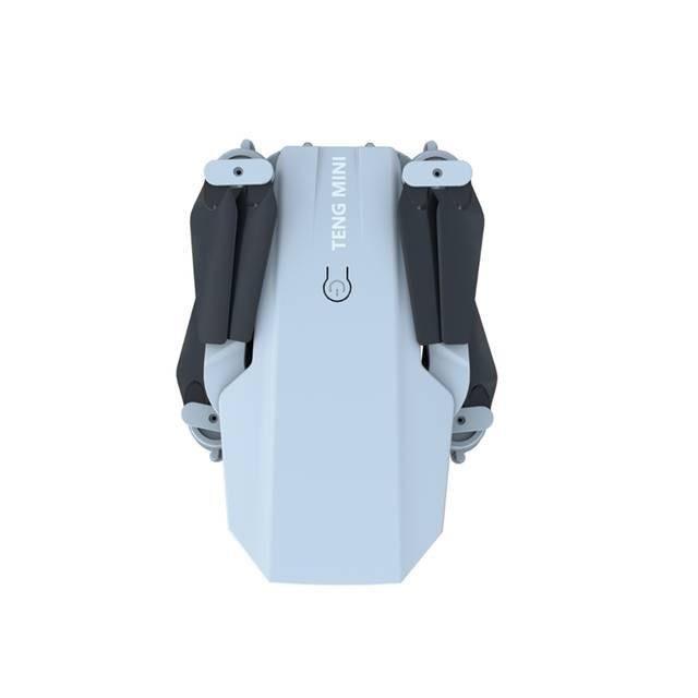 Kèm túi đựng - Máy bay Flycam Teng mini KF609, Camera 4K, nhận diện cử chỉ, gấp gọn kết nối trực tiếp điện thoại