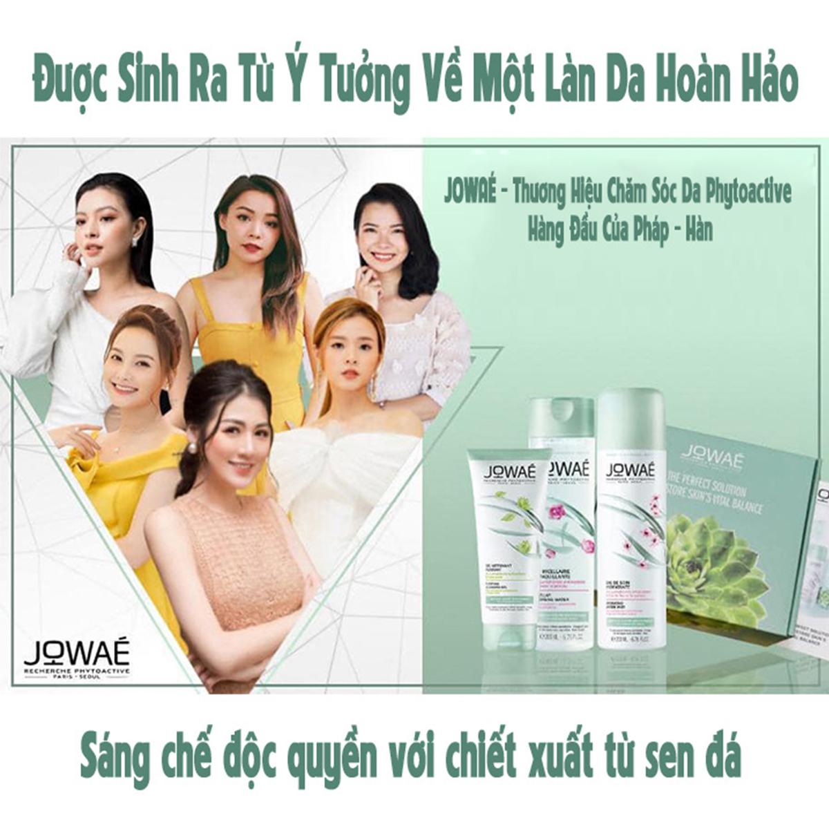 Dầu khô nuôi dưỡng da và tóc Jowae Hàng chính hãng từ Pháp Nourishing Dry Oil 100ml