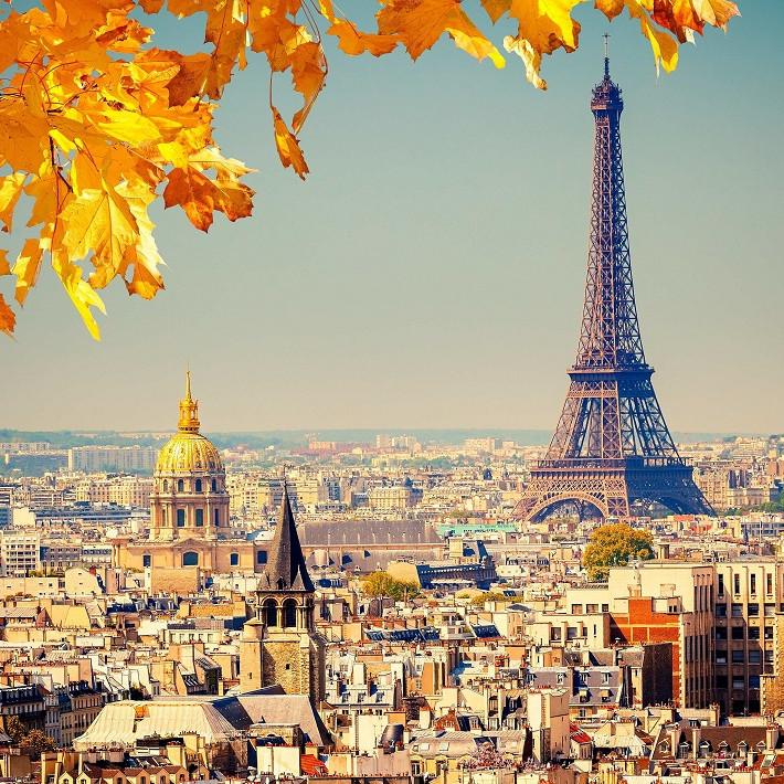 Tranh ghép hình 1000 mảnh gỗ - Mùa Thu Paris
