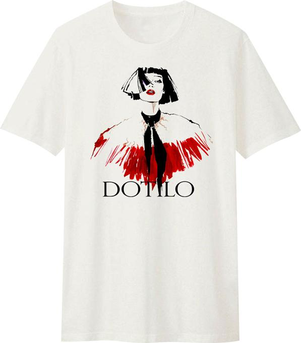 Áo T-Shirt Unisex Dotilo Fashion Girl - B331 - Size XS