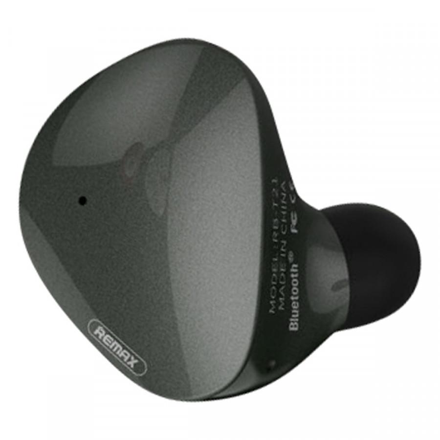 Tai Nghe Bluetooth Remax RB - T21 + Tặng Kèm 1 Cáp Sạc IPhone - Hàng Chính Hãng