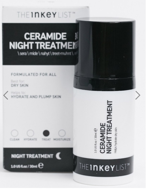 Kem dưỡng đêm The INKEY List Ceramide Night Treatment 30ml