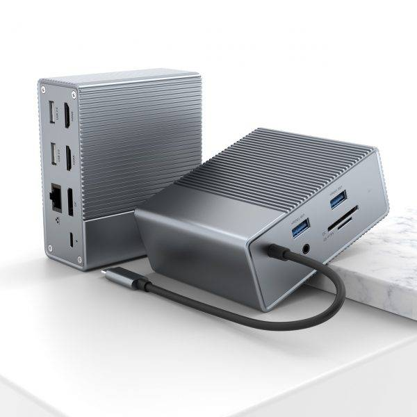 Hyperdrive Gen2 12-In-1 For Macbook, Ipad Pro 2018-2020, PC & Devices (G212)-chính hãng