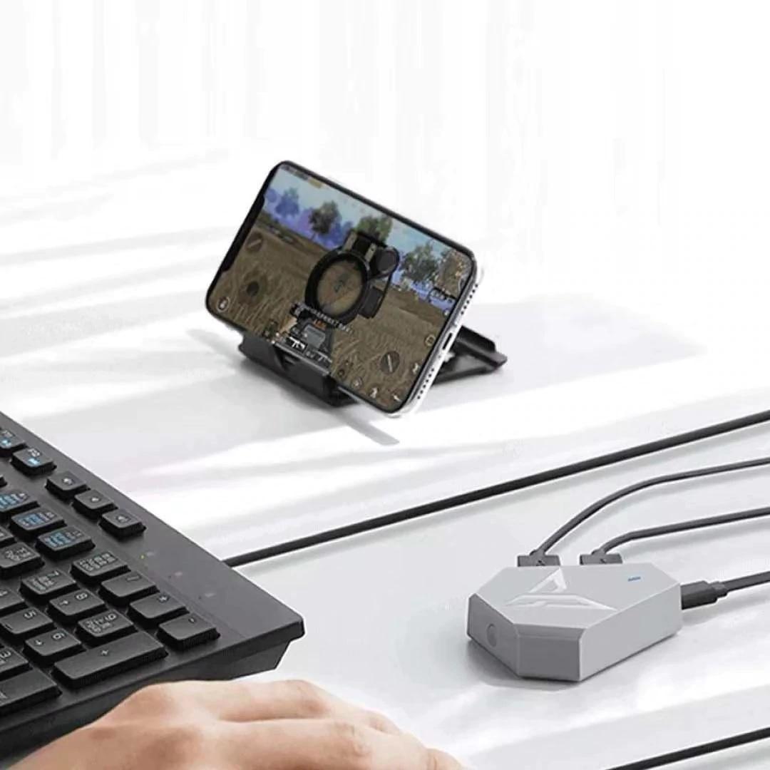 BattleHub Q1 hỗ trợ chơi game PUBG Mobile cho Android, iPhone, iPad như PC - Hàng Chính Hãng